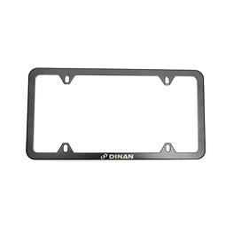 Slimline License Plate Frame - Black